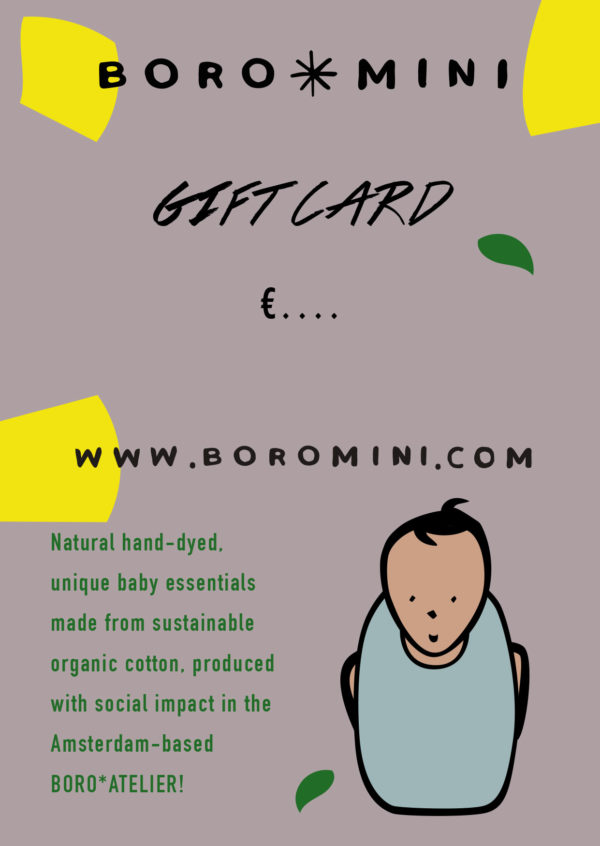 BORO*MINI Gift Card